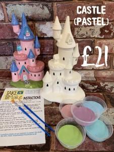 1. castle pastel