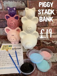 2. piggy stack bank